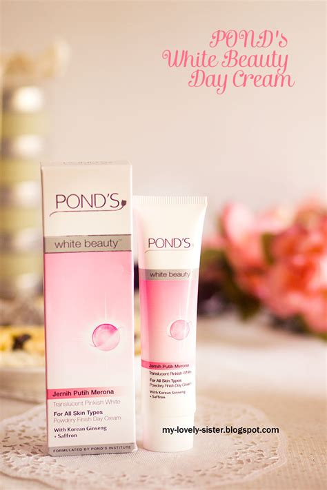 Krim Wajah Ponds my lovely a with review pond s white day