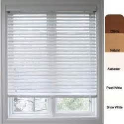 Window Blinds And Shades Arlo Blinds Customized Faux Wood 29 5 Inch Window Blinds