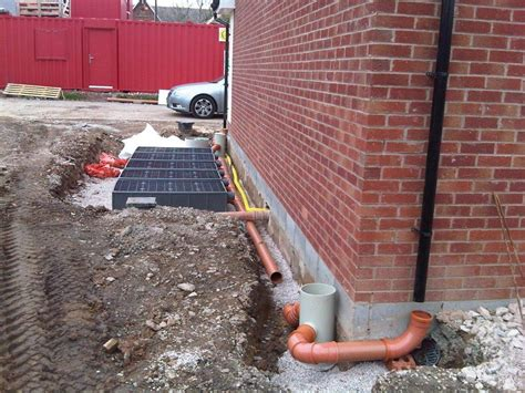 surface water suds drainage solutions for housing