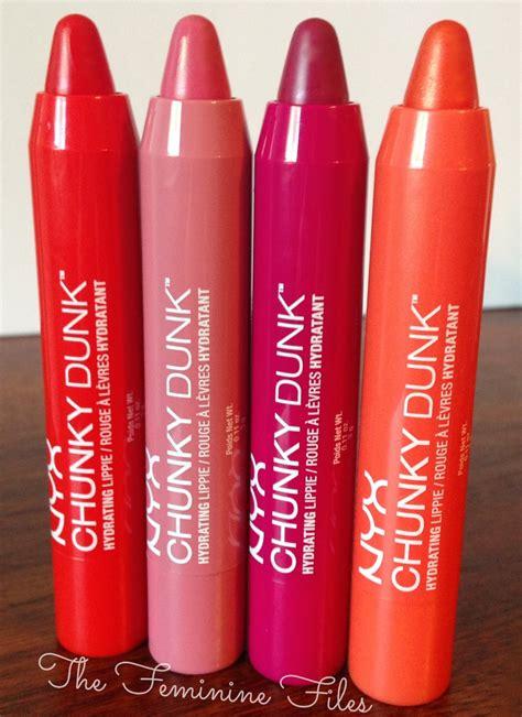 Lipstik Nyx Chunky Dunk new nyx chunky dunks review the feminine files