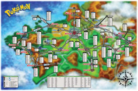 Find On Map Spoiler Here S The Location Of Every In X Y Map My Nintendo