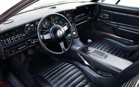 maserati bora interior collectible 1971 1978 maserati bora automobile