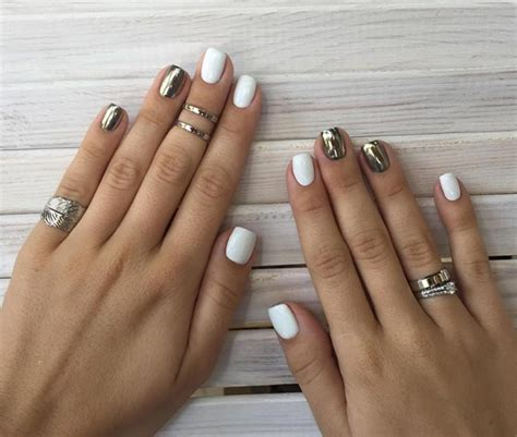 best color for super short nails 101 classy nail art designs for short nails fashionisers