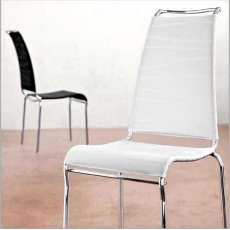sedia calligaris air sedia impilabile con struttura in metallo air di connubia