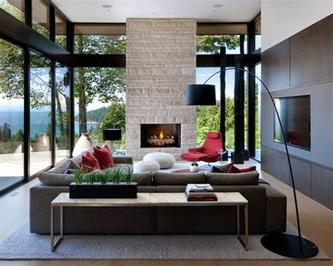 Contemporary Living Room Decor - best modern living room design ideas remodel pictures
