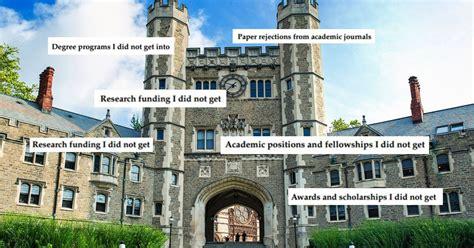 princeton professor s cv of failures will make you feel