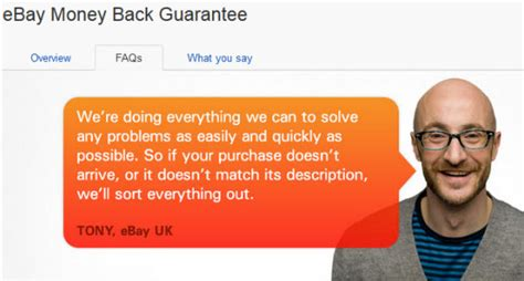 ebay money back guarantee ebay gives buyers mixed messages on how cases impact sellers