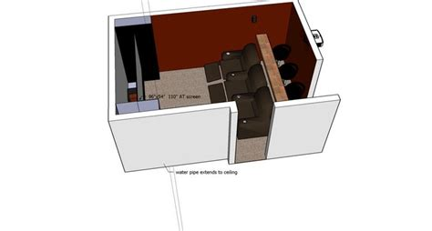 Home Theater Design Room Dimensions Pin By Mcgrath On Home Theater