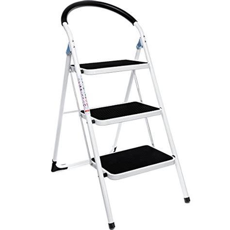 Lightweight 3 Step Stool by Delxo 3 Step Ladder Folding Step Stool Lightweight