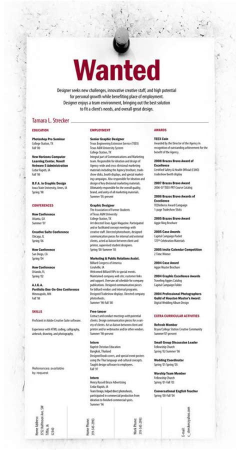 Unique Resume by 45 Creative Resumes To Seize Attention Hongkiat