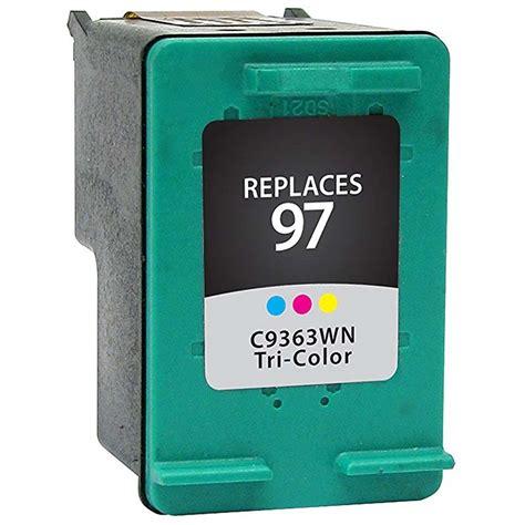 Hp 97 Color Original Cartridge hp c9363w hp 97 ink cartridge color remanufactured