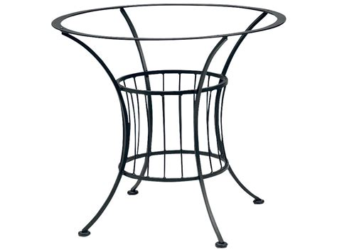 Patio Table Bases Woodard Easton Wrought Iron Dining Table Base Only 1n4800