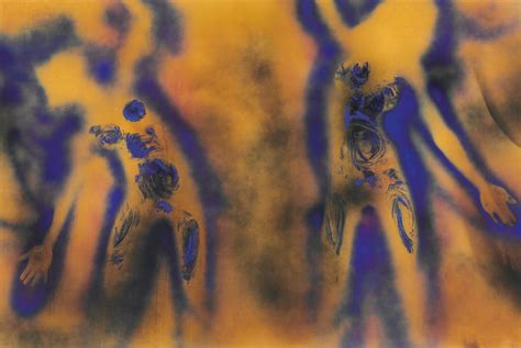fire colour one christie s to auction yves klein painting fc 1 auction publicity auction publicity