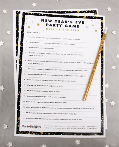 new year 2017 trivia 10 brilliant new year s activities