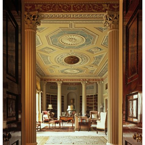 newby house interiors newby hall the library robert adam design skelton on ure near boroughbridge in