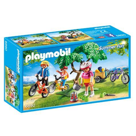play mobile playmobil summer mountainbiketocht met bolderkar 6890