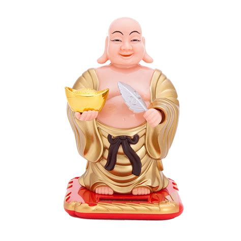 bobblehead buddha buddha soar powerd bobblehead figure asian