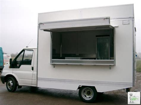 mobile catering vans 12 ft chassis cab conversion 3500 kg mobile catering