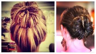 bun with braids updo hairstyle