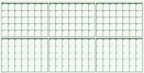 180 Day Calendar 180 Day Erasable Wall Calendar 38 X 75