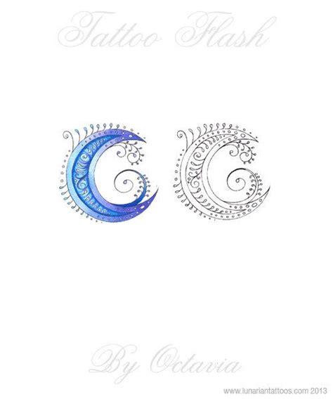 blue moon tattoo moon flash goddess henna moon by
