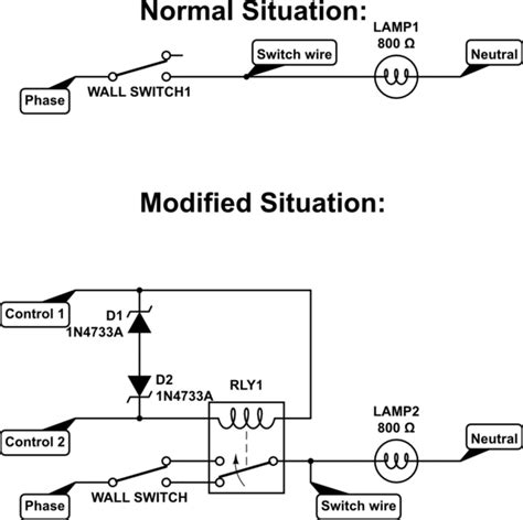 wall light switch wiring diagram schematic electrical