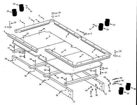 pool table parts diagram build a pool table pool table plan cool woodworking plans