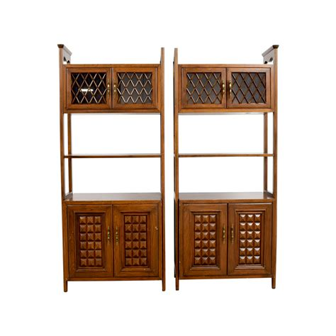 mid century storage cabinet bookcases shelving used bookcases shelving for sale