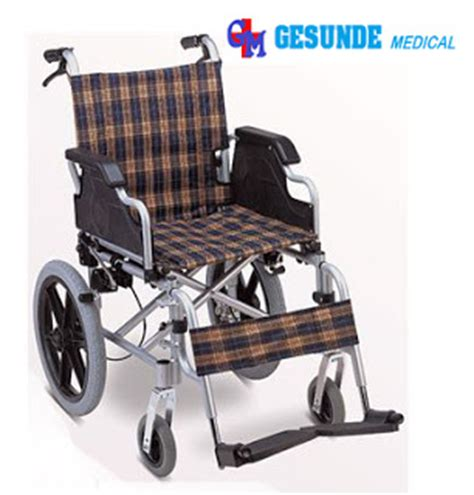 Harga Kursi Roda Velg kursi roda alumunium 907lj ban hidup rem depan belakang toko medis jual alat kesehatan