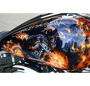 Lets See Your Ghoulish Paint Jobs  Harley Davidson