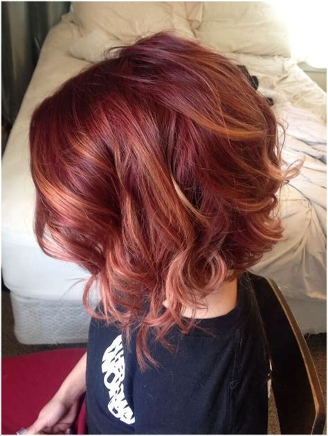 pink highlights hair older women blonde balayage with red highlights