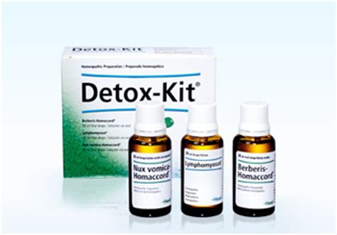 Drugs Detox Kit Uk by Heel Ge