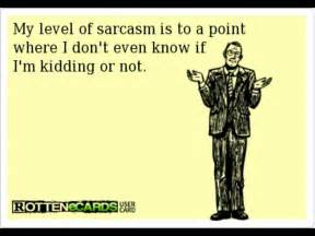 sarcasm ecard the nerdy side of