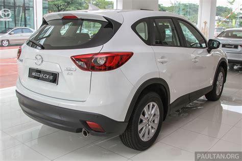 mazda cx 5 facelift in malaysia cbu 2 5 from rm168k