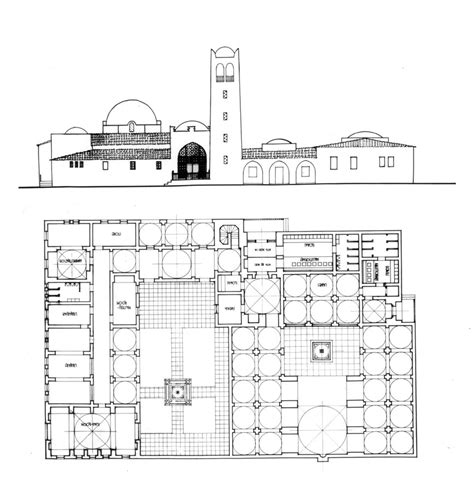 masjid design plan roxbury mosque design drawing plan elevation archnet