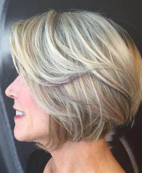 Balayage Highlights For Older Women | 80 classy and simple short hairstyles for women over 50