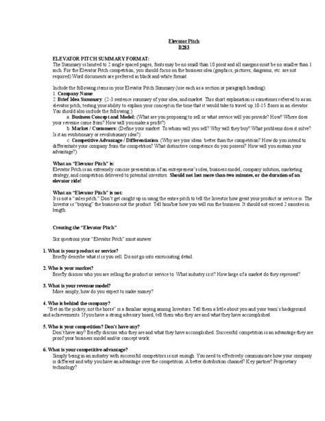 Elevator Inspector Sle Resume by Pitch Resume 28 Images Sales Pitch Exles Resume Sles Tag Elevator Pitch Exles For High