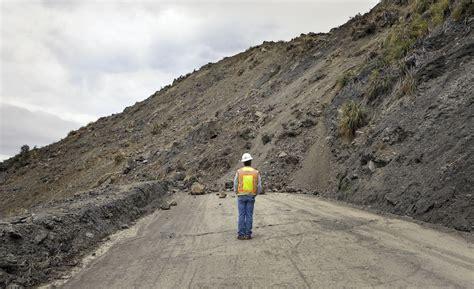 Pch Mudslide 2017 - big sur landslide