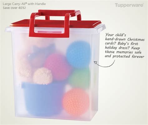 Carry All Bowl Tupperware tupperware large carry all 174 with handle store and tote this perfectly portable container is