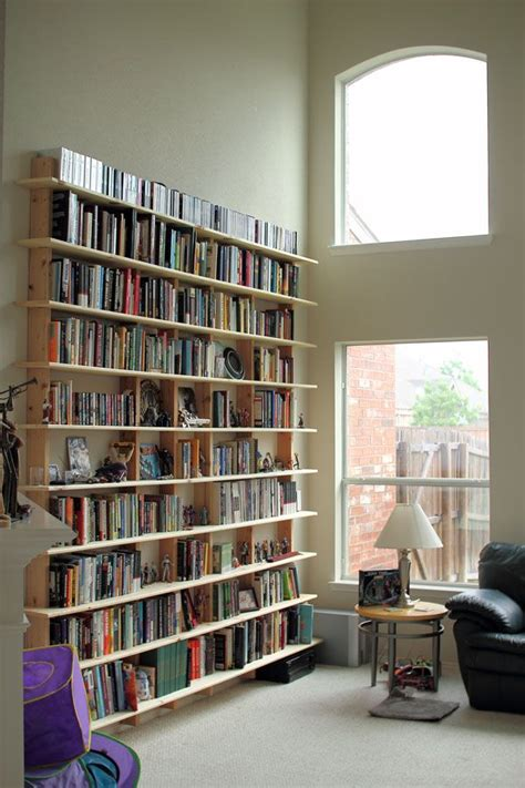 really simple bookshelf of any size crafts