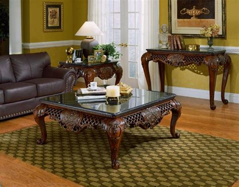 High End Coffee Tables Living Room Winston Marble High End Coffee Table Set Furniture