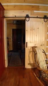 Rolling Doors Interior Crafted Solid Pine Interior Rolling Door Shank
