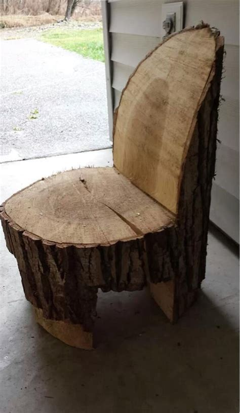 stump chair chair made from a log ev dekorasyonu logs