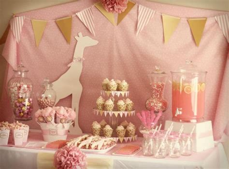 Pink Giraffe Baby Shower Decorations by 196 Best Baby Shower Giraffe Theme Images On