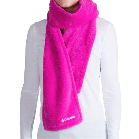 columbia sportswear pearl plush scarf fleece for