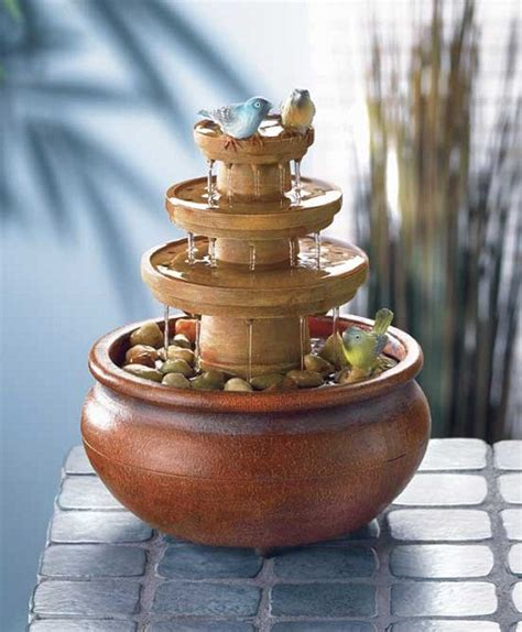 tabletop water fountains home design tips and guides