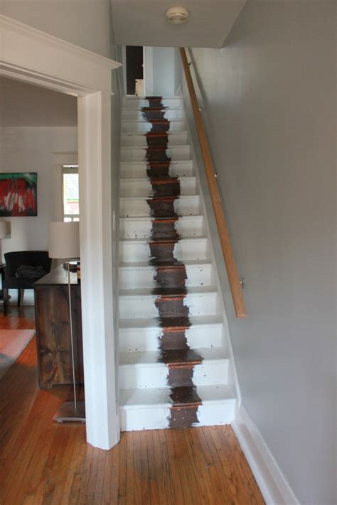 Refinishing Stair Banister by Stair Refinishing Project The Science Of Married