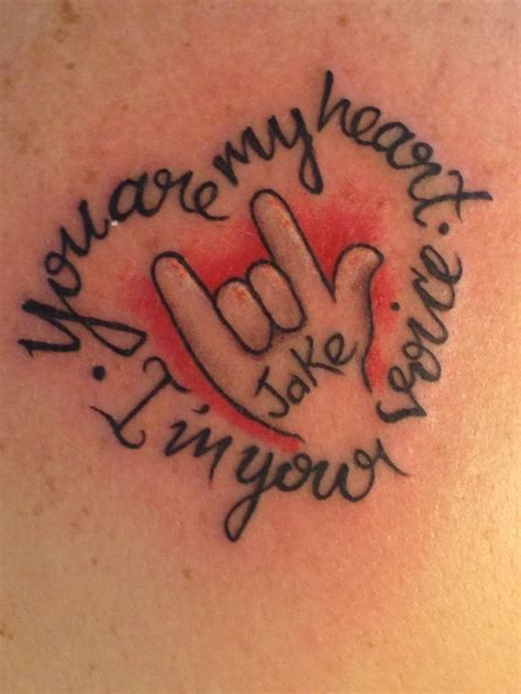 sign language tattoos 20 best i you sign language images on