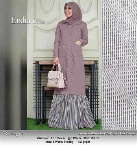 Harga Baju Merk Marghon baju gamis panjang 140cm eisha ungu1 model baju gamis