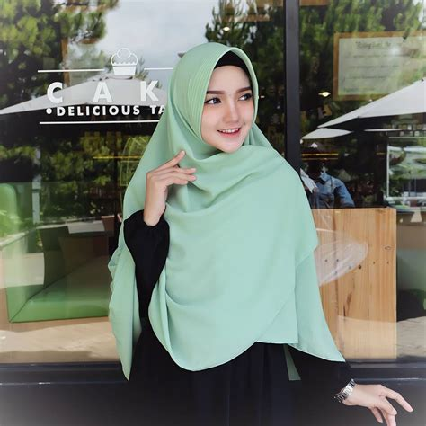 Jilbab Instan Perempuan Khimar Kerudung Wanita Muslimah grosir jilbab murah di semarang jilbab instan